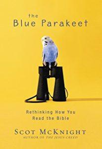 the blue parakeet