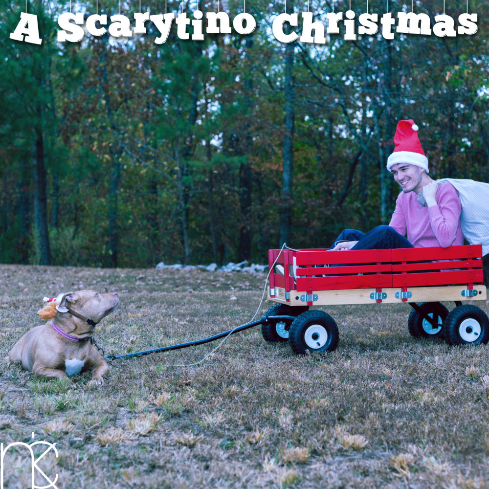 a scarytino christmas